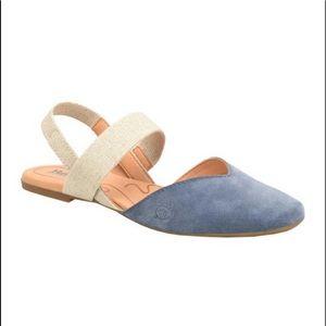 Born Coco Dark Blue (Shark) Women's Sandal Sz 9